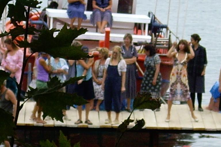 Mamma Mia shootings in Damouchari harbor